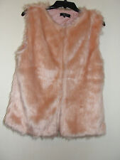 VERY NICE NEW LOOK FAKE FUR VEST - SIZE 164-170 cm