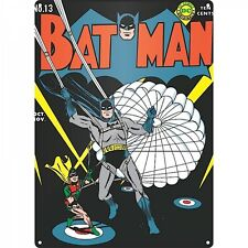 Batman Parachute  metal sign   400mm x 300mm (hb)  REDUCED - one only