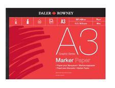 DALER ROWNEY MARKER PAD - A3 (70gsm)
