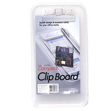 Sysmax Mini A6 Size Compact Clip Board 4.5 x 8.8 x0.5 inch- Plastic