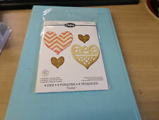 Sizzix Thinlits Die Set Medallion  Layering Heart 658915 XMAS SPECIAL