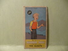 """1953 SUGAR DADDY COMIC STRIP CARDS # 27 JAMES O WELCH CO. """"THE GUMPS"""""""