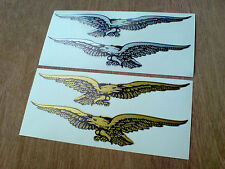 SOARING EAGLE Vintage Classic Car Helmet Motorcycle Stickers 2 off 150mm