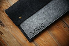 "SONY VAIO® Pro 13"" Super Handmade Sleeve Case Bag - with Buttons"