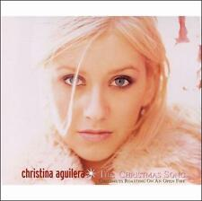 CHRISTINA AGUILERA The Christmas Song-CD single (Chestnuts roasting....)