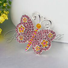 1PC 40x38mm Butterfly Pendant Charm For Bubblegum Chunky Bead Kid Necklace