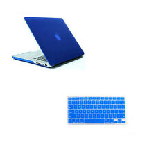 "Rubberized Hard Case Shell &Keyboard Cover for Macbook Pro 13/15"" Air 11/13 inch"