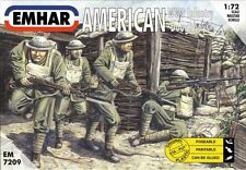 EMHAR 7209 - WWI American 'Doughboys' Infantry      1:72 Figures-Wargaming model