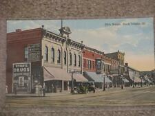 20th St., Rock Island, ILL., Hartz Drugs- Etc., unused vintage card
