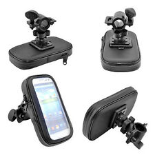 Waterproof Motorbike motorcycle Bike Cycle GPS SAT NAV Case Bag Mount Holder UK