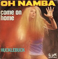 """HUCKLEBUCK. COME ON HOME. RARE FRENCH PS 7"""" 45 70'S GIRL ROCK HEAVY"""