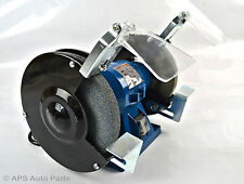 "150W 6"" Bench Grinder Workshop Twin Polisher Grinding Coarse Grit Stone 2950rpm"