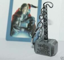 Keychain / Porte-clés - Marvel The Avengers Thor Thor's Hammer Metal Silver