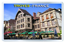 TROYES FRANCE FRIDGE MAGNET SOUVENIR IMAN NEVERA