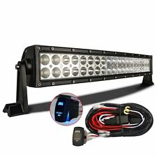 "22"" 120W Curved LED Work Light Bar Combo Off Road Lamp Car Light"