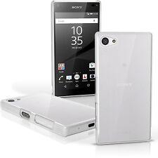 Clair Etui Housse Plastique pour Sony Xperia Z5 Compact E5803 Coque Case Cover