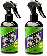 Rodent Sheriff - Get Rid of Rats and Mice Easily - Set of 2 Spray Bottles NO TAX