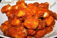 "☆Buffalo Hot Wings ""RECIPE"" & Copycat Red Hot Sauce☆Superbowl/Movietime/Anytime☆"