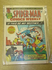 SPIDERMAN BRITISH WEEKLY #25 1973 AUG 4 MARVEL