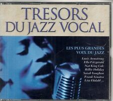 COFFRET 4 CD COMPIL 80 TITRES--TRESORS DU JAZZ VOCAL--COLE/HOLLYDAY/ARMSTRONG