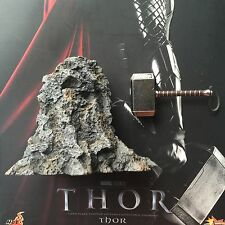 Hot Toys 1/6 MMS146 THOR Figure ROCK BASE & Mjolnir Hammer