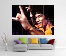 Bruce Lee Enter The Dragon Juego De La Muerte De Pared Gigante impresión arte cartel h211