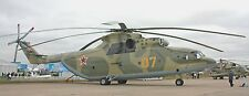 Mil Mi-26 USSR Heavy Transport Helicopter Wood Model Replica Large Free Shipping