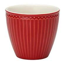 GreenGate Alice Latte Cup in Winter Red