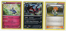Pokemon Cards BATTLE ARENA DECK PROMOS XERNEAS XY31 + YVELTAL XY32 + TREVOR XY33