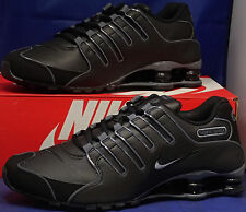 Nike Shox NZ SL Black Flint Grey SZ 11.5 ( 366363-006 )