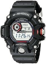 Casio G-Shock Rangeman GW-9400-1CR Master of G Stainless Steel Solar Watch NEW!