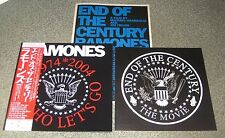 RAMONES Japan MOVIE PROGRAMME not TOUR BOOK w/PROMO flyer, card cover, obi, PUNK