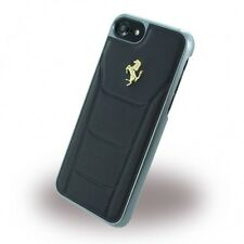 Ferrari CG Mobile Case iPhone 7 Genuine Leather Hard Case Black