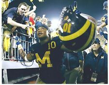 Jeremy GALLON Signed Michigan Wolverines UNDER THE LIGHTS 8x10 Photo  #2