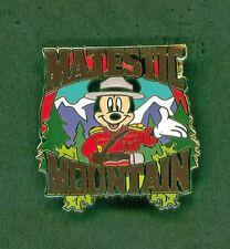 Disney Pins Mickey Majestic Mountain Adventures By Disney Canadian Rockies