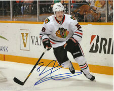 Chicago Blackhawks Marcus Kruger Signed Autographed 8x10 Photo COA A