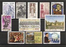 ITALIA, minicollezione Soggetto Religioso, 11v usati (pha133)