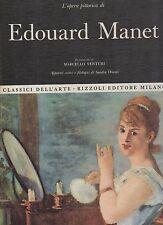 classici dell arte rizzoli- l opera completa edouard manet