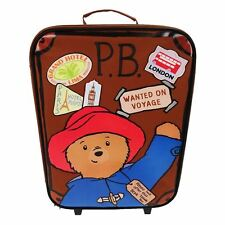 Paddington Bear Suitcase Box Wheeled Trolley Bag - Kid's Suitcase