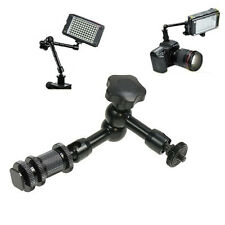 11'' Articulating Magic Arm for Clamp LCD Monitor LED Light DSLR Camera Hot Shoe