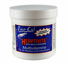 Rep-Cal 3.3oz Herptivite Multivitamin with Beta Carotene (BLUE) FREE SHIPPING