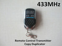 Universal 433MHz Remote Control Transmitter Clone Duplicator RF replacement
