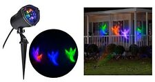 Whirl-a-motion Ghost Projection Stake Set Halloween Yard Decoration Light Decor