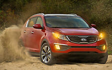 KIA SPORTAGE 2011 - 2013 WORKSHOP SERVICE MANUAL 4X4