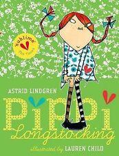 Pippi Longstocking by Astrid Lindgren (Paperback, 2010)