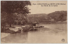 CPA -69-  COLLONGES-au-MONT-d'OR - Les Bords de la Saône.