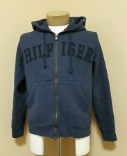 Men's Small Tommy Hilfiger Spellout Full-zip Hoodie Jacket Very Soft