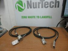 Lot of 2 DELL J9189 EXTERNAL SAS CABLE 2 METER