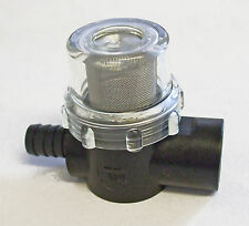 "Water strainer for pumps 1/2""bspf x 1/2"" hosetail     SHURFLO          SHU01A"