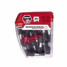 Milwaukee 4932430880 Shockwave 25 Pieza Pz TORX TX25 25mm Nuevo